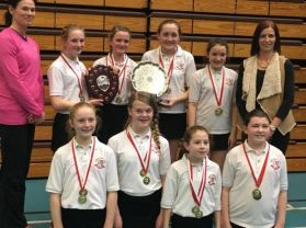 Carniny Netball Team secure The Double!