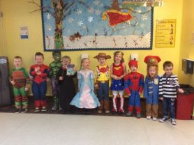 World Book Day in P1