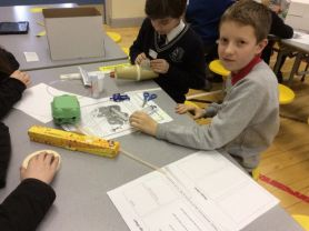 P7 STEM Challenge at St. Colmcille's