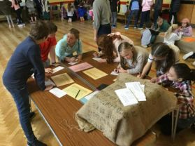 P6/7 Shared Education 'Viking Workshop