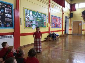 P2 enjoy Scottish dance