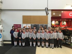 P7S Fairtrade Visit to Sainsbury's