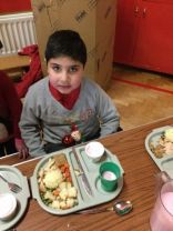 P1/2 Christmas lunch