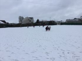 P2 have fun in the snow!