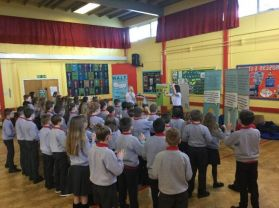 Dairy Council speaks to P5 and P6 Pupils