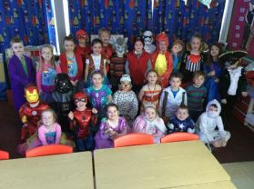 World Book Day in P2