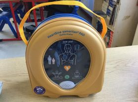 AED Arrives into School