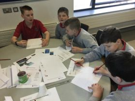P7S attend the Big Bang Science exhibition in the Braid Centre