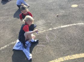 P1 Number Formation Outside