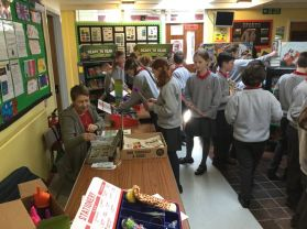 World Book Day reminder- 7.3.19 and photographs from this weeks Book Fair