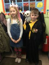 World Book Day in P4