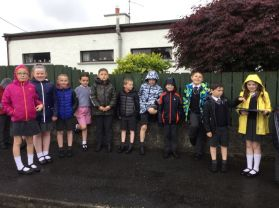 P4 Shared Education Walk with St Colmcille's